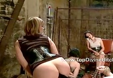 Three obedient slaves dominated