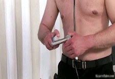 Dirty brunette bitch comes to the doctor part2