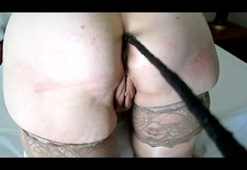 Naughty wife teased and punished