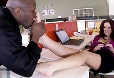 Hot daughter office sex