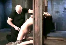 Princess Donna Dolore was behaving badly and that is why Mark Davis decided to give her discipline lesson! See everything what this master does with the enslaved bitch.