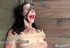 Bondage Legend Wenona in Predicament Bondage & Sweaty with Cyd Blac