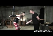 Spanked And Impregnated In Chains