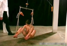 Nasty great tits sexy babe gets bondage part5