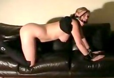 Amateur spanking and whipping of dutch housewife