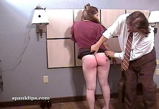 brunette pays the price