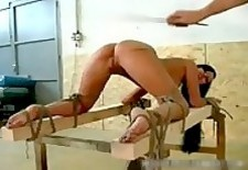 Tit spanking s&_m Rope Action radical