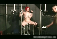 Chubby redhead slut with big tits gets part3