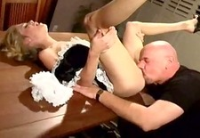 Gorgeous Ms. Sins sexy maid delight
