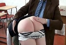 Pandora Blakes detention house schoolgirl spanking