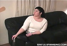 Lazy Housewife Butt Spanked