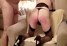 Sissy Cross dresser gets by Kraker