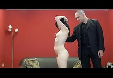 Extreme amateur spanking and whipped ass punishment
