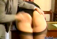This babe loves to be spanked