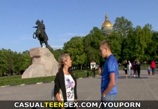 Casual Teen Sex - Sex on a sightseeing tour