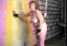 Thick big beautiful woman dark brown acquires cum-hole abased with hook and booty spanked red