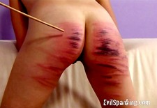 Girls trying something new spanking