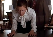 Spanking scene from motion picture
