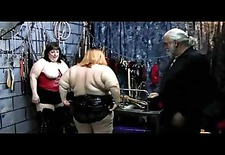 Spanking Obese Asses