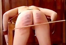 Retro Pigtailed Teens Caned
