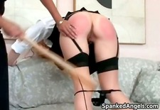 Naughty schoolgirl with pig tails gets part5